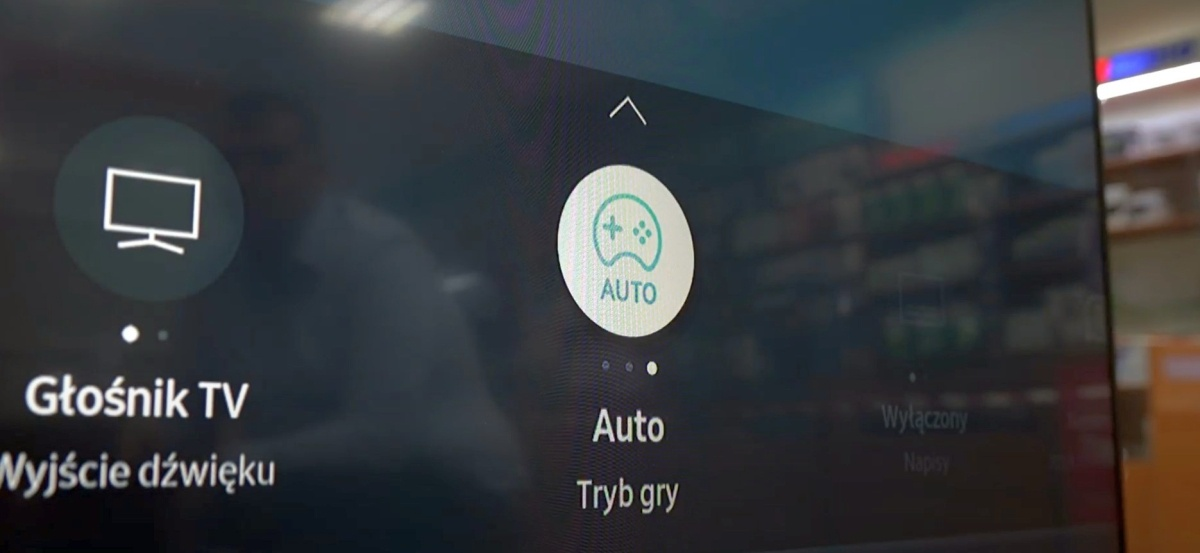 Tryb gry może pojawić się jako auto