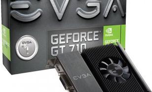 EVGA GeForce GT 710 1BB DDR3 (64 Bit) 2x DVI, mHDMI, BOX (01G-P3-2716-KR)