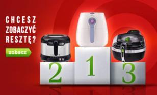 TOP 10 Frytkownic - Zestawienie Kwiecień 2015