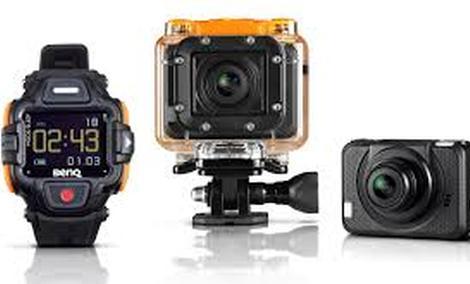 BenQ SP2 - kamera do zadań specjalnych z zegarkiem w zestawie