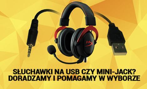Słuchawki na USB Czy Mini-Jack? Doradzamy i Pomagamy w Wyborze