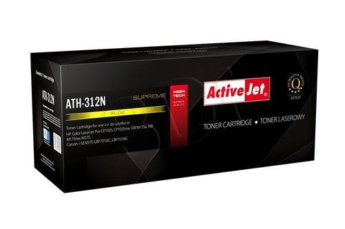 ActiveJet ATH-312N żółty toner do drukarki laserowej HP (zamiennik 126A CE312A) Supreme