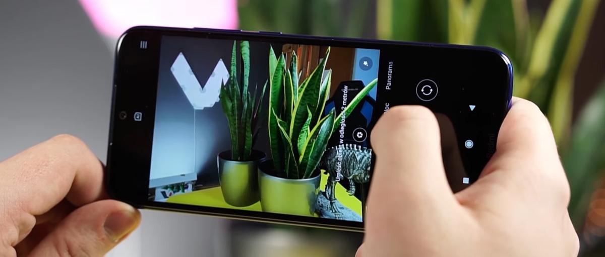 Redmi Note 8T wyposażono w rozbudowaną aplikację do robienia zdjęć