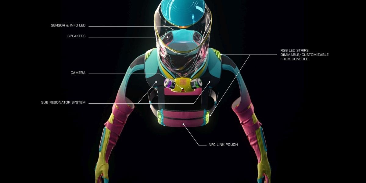 Skafander będzie naszpikowany elektroniką, by nie musieć korzystać ze smartfona