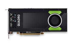 PNY Technologies NVIDIA Quadro P4000, 8GB GDDR5 (256 Bit), 4xDisplayPort (VCQP4000-PB)