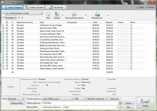 EZ CD Audio Converter 2