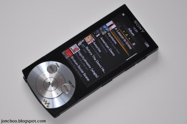 Sony NWZ-A845 - odtwarzacz multimediów z wyższej półki