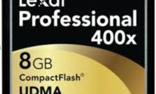 Lexar 400x 8GB