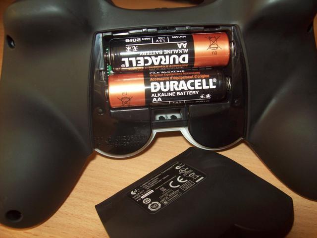 Gamepad F710 Baterie