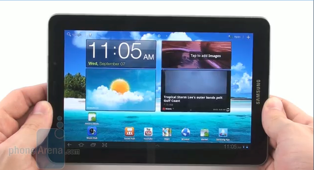 Samsung Galaxy Tab 7.7 - prezentacja tabletu