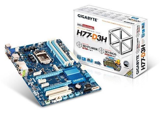 Płyty główne GIGABYTE na chipsecie H77