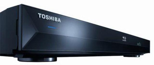 Toshiba blu ray