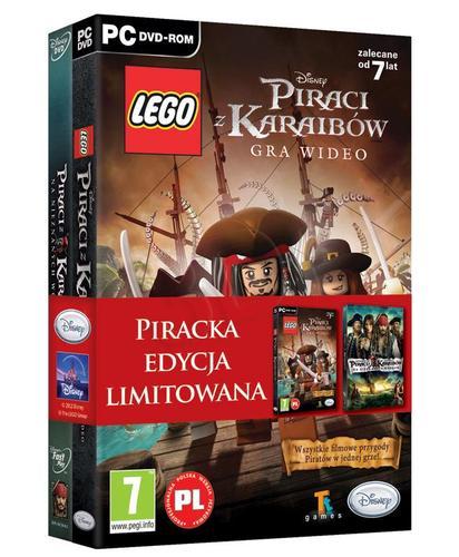 LEGO Piraci z Karaibów + film DVD Piraci z Karaibów: Na nieznanych wodach