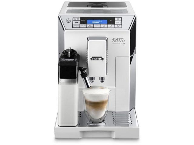 przyrządzanie kawy w ekspresie De'Longhi ECAM 45.760.W