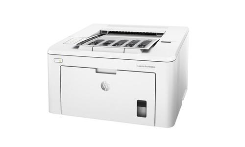 HP LASERJET PRO 200 M203DN G3Q46A na białym tle
