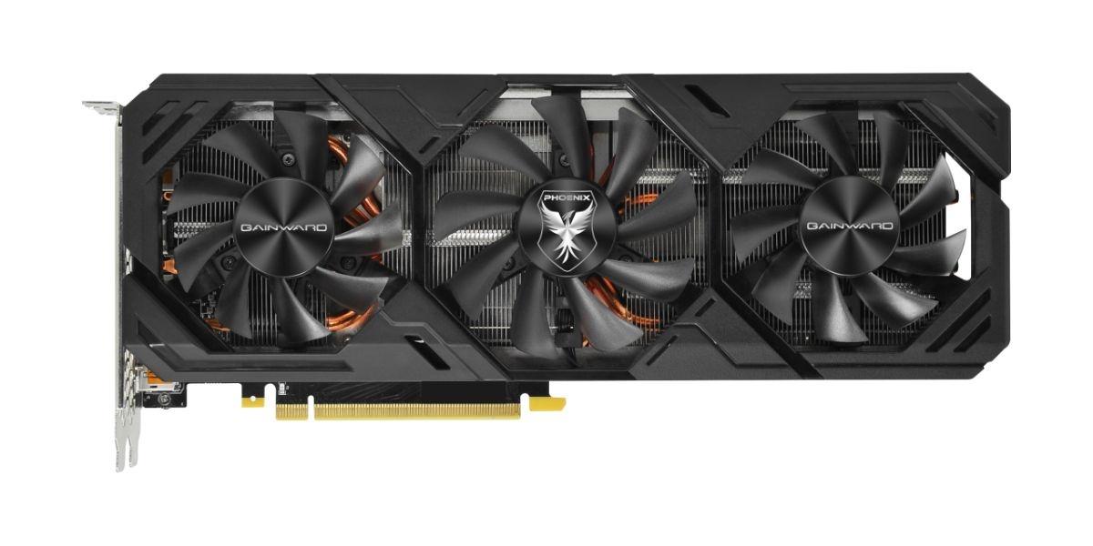 Gainward GeForce RTX 2070 SUPER Phoenix GS - wentylatory półpasywne