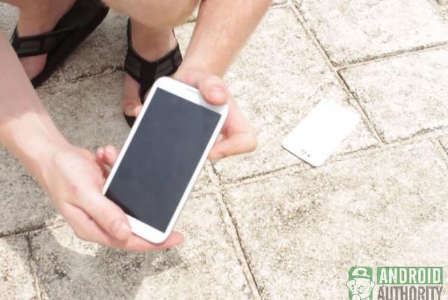 Samsung GALAXY Note II - test wytrzymałości