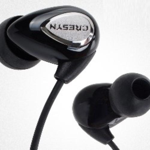 Cresyn C230e black Słuchawki dokanałowe