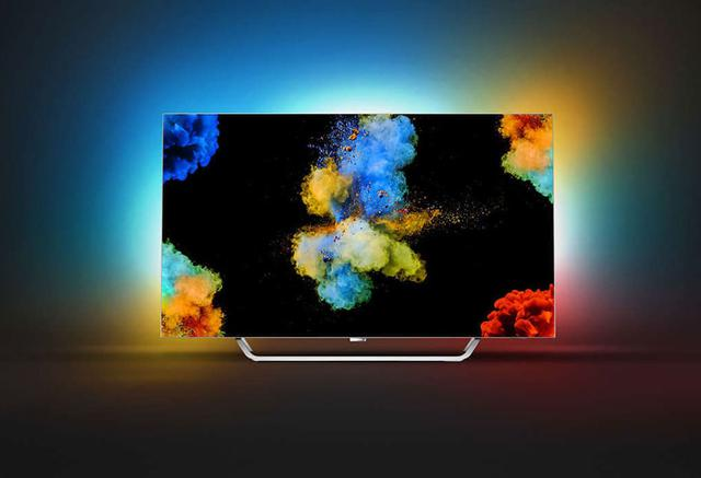 ładny telewizor OLED Philips 55POS9002