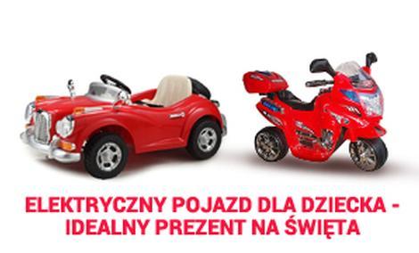 Elektryczny Pojazd Dla Dziecka - Idealny Prezent Na Święta