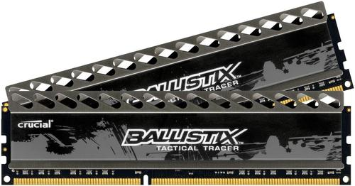 Crucial DDR3 Ballistix Tactical 8GB/1600 (2*4GB) LED GREEN