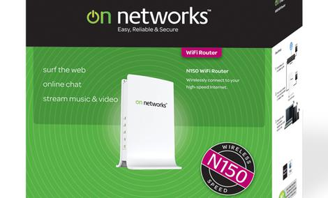 On Networks N150 WiFi Router [Unboxing]