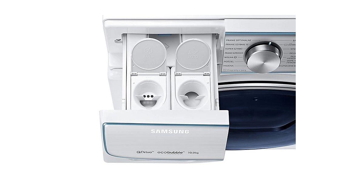 pojemniki w pralce Samsung na detergenty