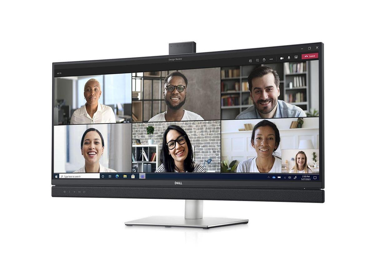 Największy z nowych monitorów Della posiada panoramiczny ekran o przekątnej 34 cali
