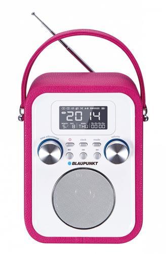 Blaupunkt PP20PK Przenośny radioodtwarzacz z Bluetooth i funkcją zegarka