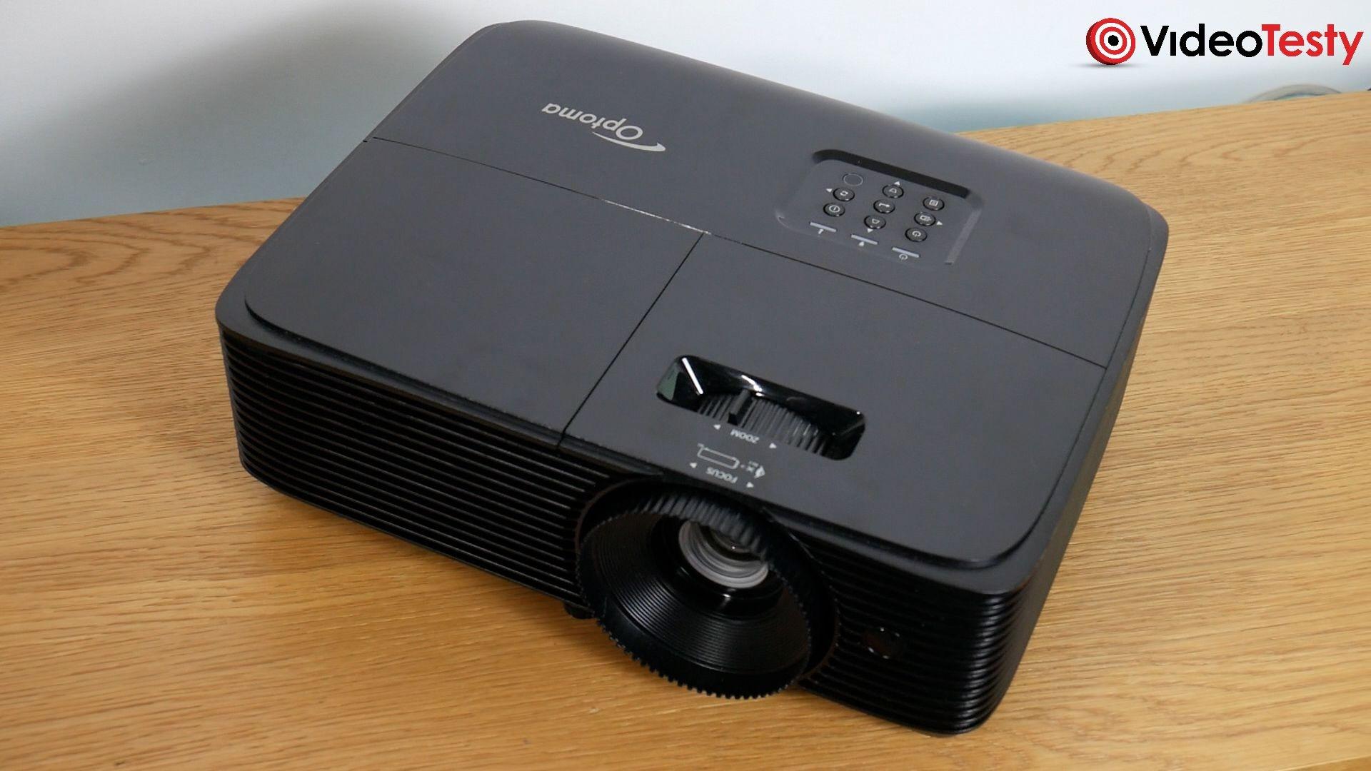 Optoma HD28e wygląd zewnętrzny