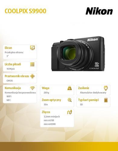 Nikon S9900 black