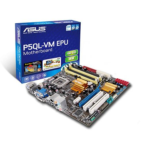 Asus P5QL-VM EPU