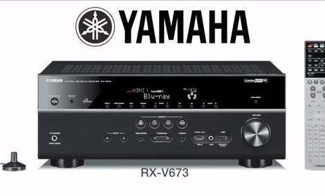 Yamaha RX-V673 - nagradzany amplituner