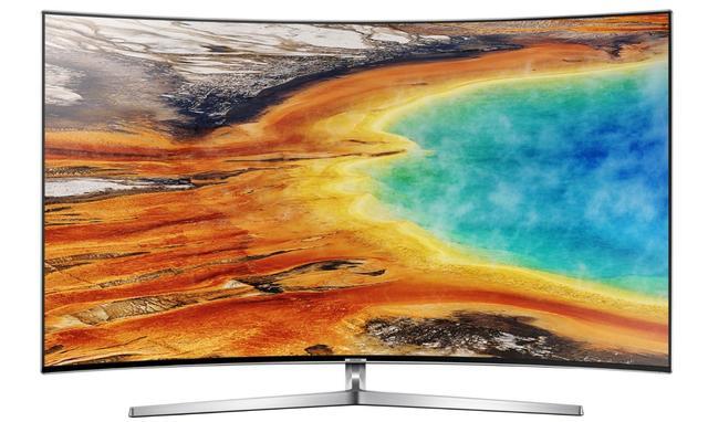 Telewizor MU9002 od przodu