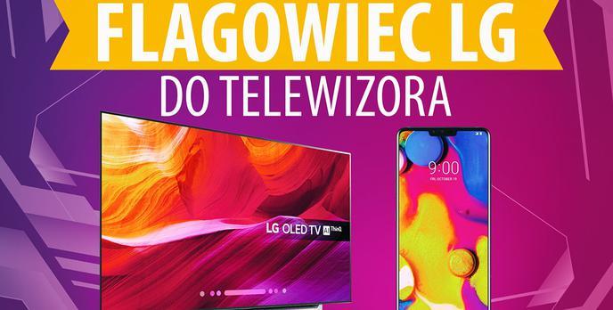 Flagowy smartfon LG do telewizora OLED?