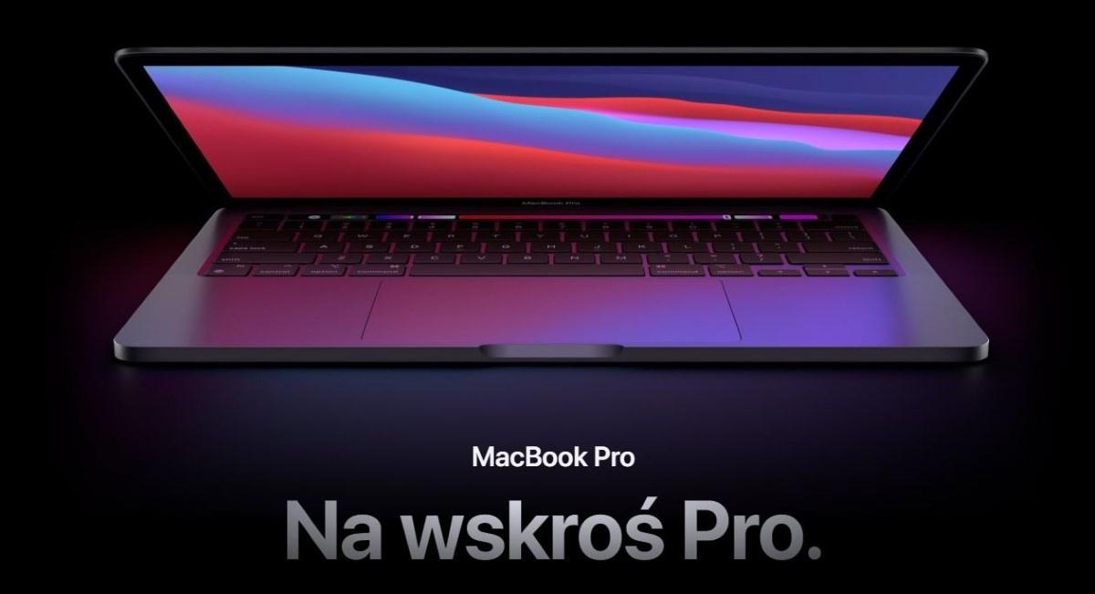 Macbook pro na grafice producenta