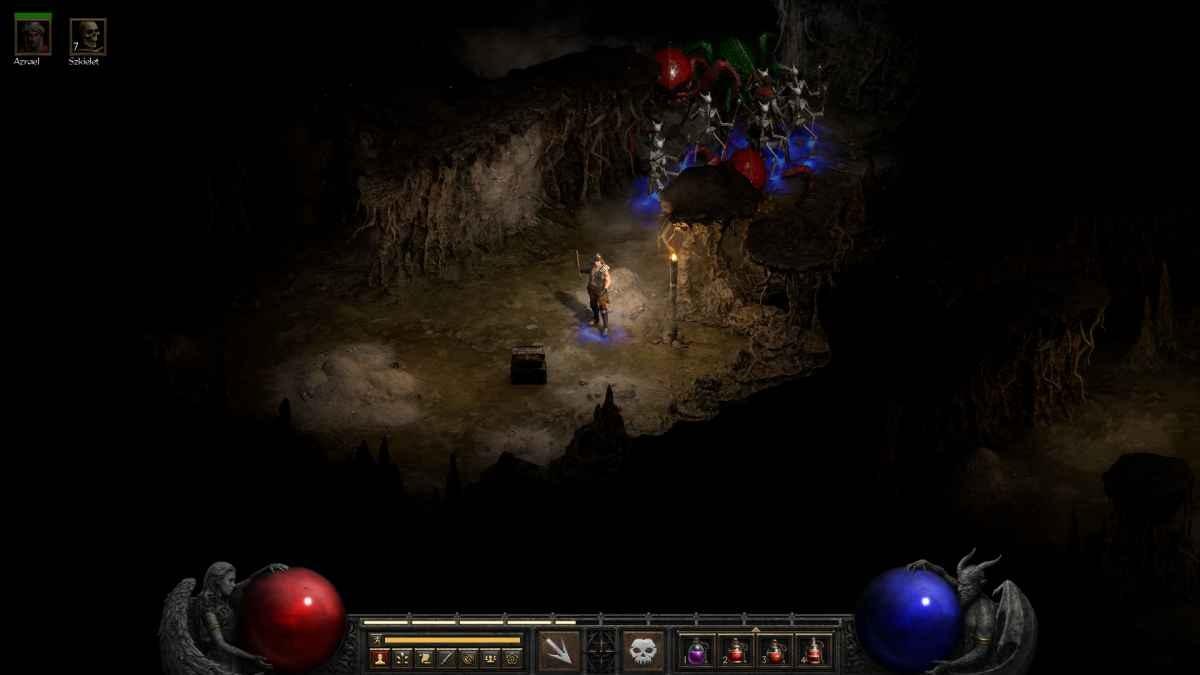 Diablo II: Resurrected - Armia szkieletów gotowa do ataku