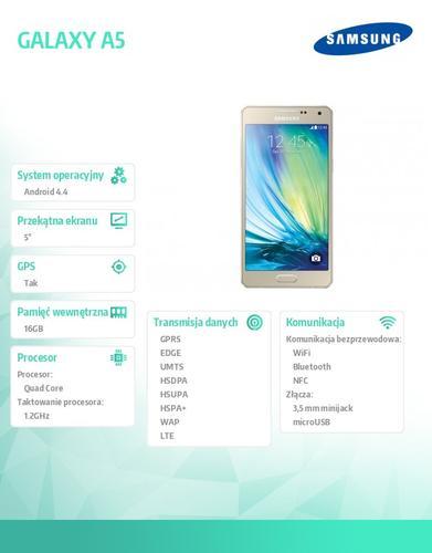 Samsung GALAXY A5 WHITE-GOLD