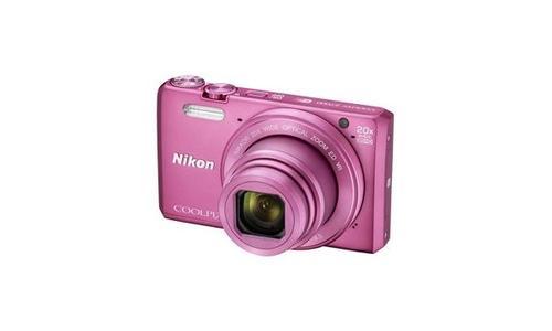 Nikon S7000 pink