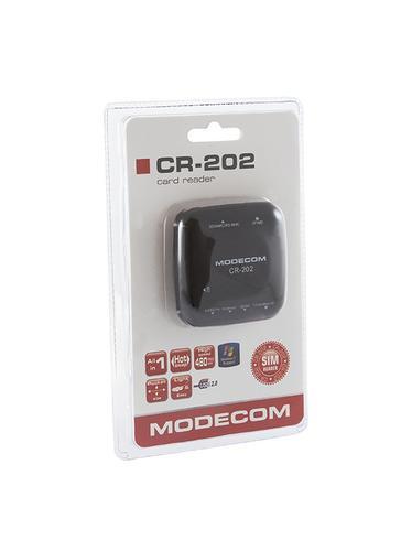 Modecom Czytnik kart SIM CR-202 Czarny