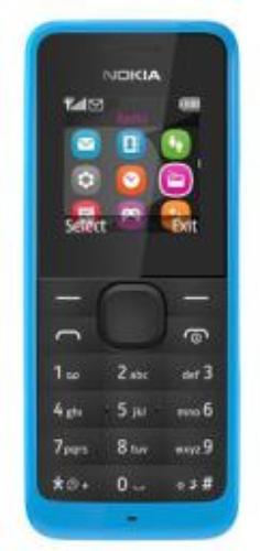 Nokia 105 Niebieski Dual Sim (A00025633)