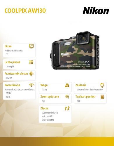 Nikon AW130 moro