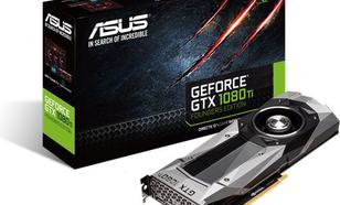 Asus GeForce GTX 1080 Ti Founders Edition 11GB GDDR5X (352 bit), HDMI, 3x DP, BOX (GTX1080TI-FE)