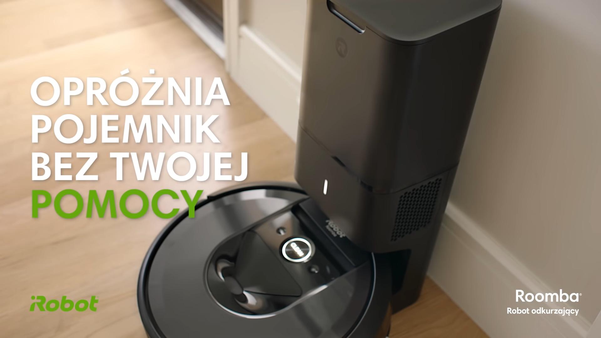 Roomba i7+ opróżnia się sama