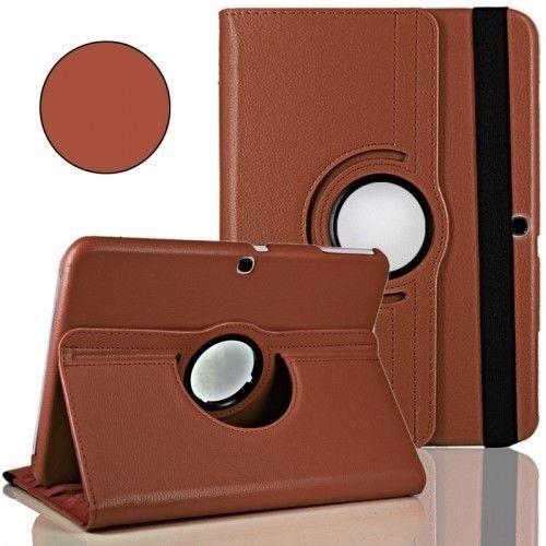 """WEL.COM Etui obrotowe Samsung Galaxy Tab 4 10.1"""" brązowy"""