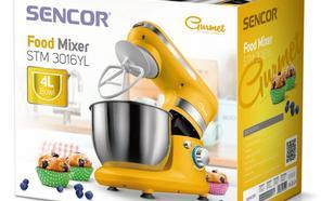 SENCOR Robot kuchenny STM3016YL moc 450 W, poj.misa 4L, 3 mieszadła