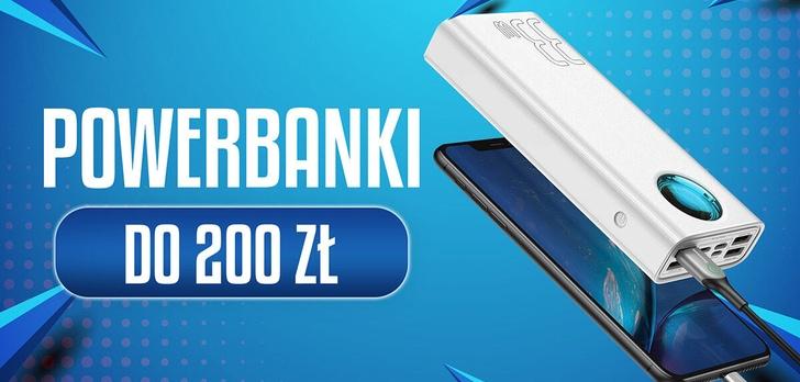 Powerbank do 200 zł   TOP 10  