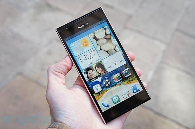 HUAWEI Ascend P2 - smartfon z obsługą LTE 4 kategorii