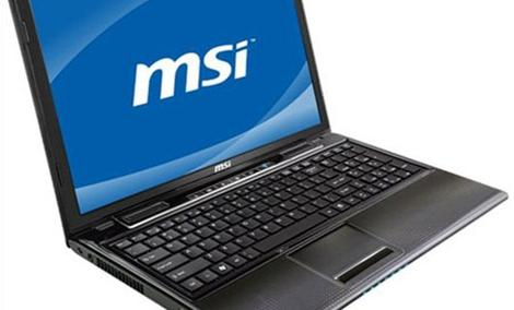 Laptop MSI CR650 - prezentacja