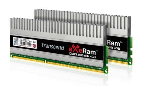 TRANSCEND aXeRam DDR3-2400 i DDR-2133 - pamięci dla wymagających